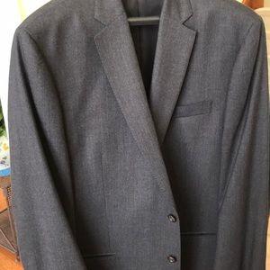 Double vented 100% wool 46 Long Ralph Lauren